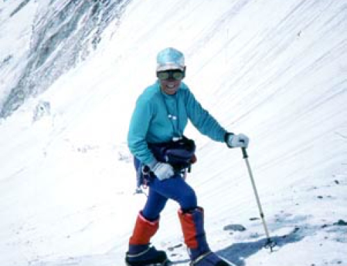 High point on Everest