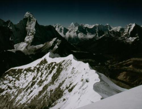 South ridge of Imja Tse